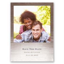 All Natural - Save the Date Postcard