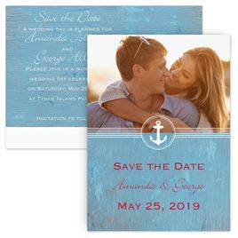 Destination Wedding Save the Date Invitations By Dawn