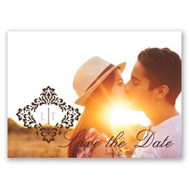 Vintage Frame - Save the Date Postcard