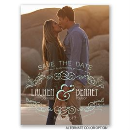 Vintage Save the Dates: 