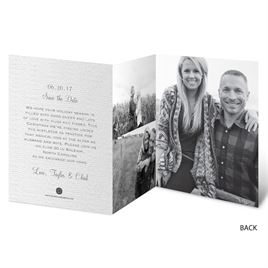 Wonderful News - Faux Glitter - Holiday Card Save the Date