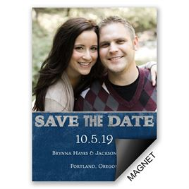 Silver Save the Dates: 