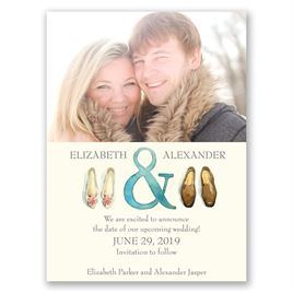 Big Step - Save the Date Card