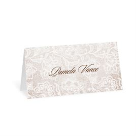 wedding place cards lace lining place card - Wedding Placement Cards