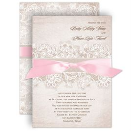 Lace wedding invitations invitations by dawn lace lining invitation filmwisefo