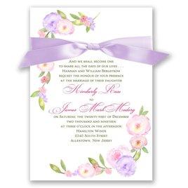 Exquisite Florals - Invitation