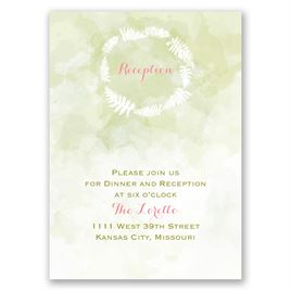 "Nature""s Embrace - Reception Card"