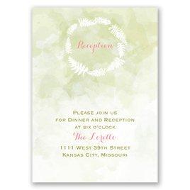"Nature""s Embrace - Reception Card"