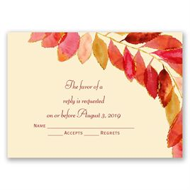 Feathered Fall - Response Card