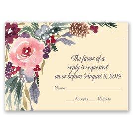 Bold Blooms - Response Card