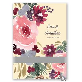 Bold Blooms - Invitation