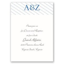 Beautiful Display - Reception Card