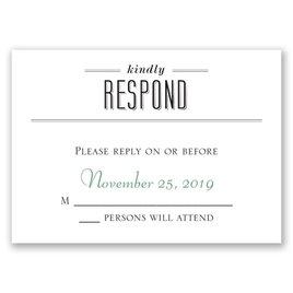 A Wedding Celebration - Response Card