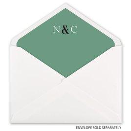 A Wedding Celebration - Envelope Liner