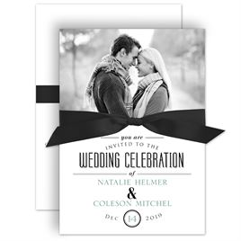 a wedding celebration invitation - Picture Wedding Invitations
