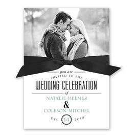 A Wedding Celebration - Invitation