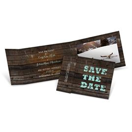 Fold Up Save the Dates: 