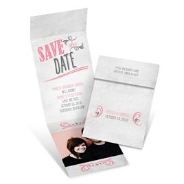 Forever Smiling - Fold Up Save the Date
