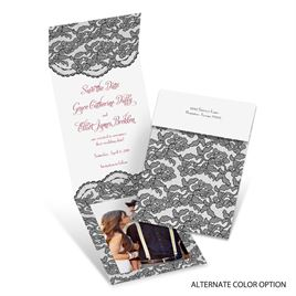 Lacy Gates - Fold Up Save the Date
