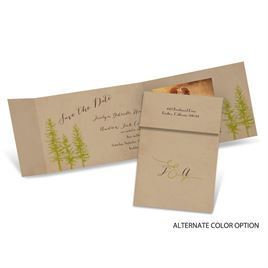 Spruced Up - Fold Up Save the Date
