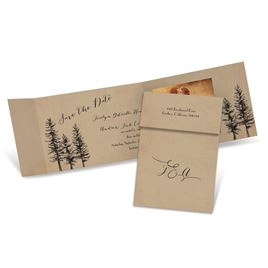 Rustic Save the Dates: 
