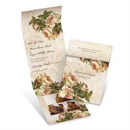 Floral Save The Dates: 