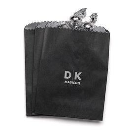 Modern Signature - Black - Favor Bags