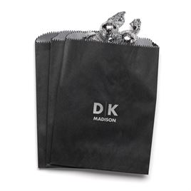 Modern Signature - Black - Favor Bags