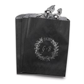 Wreath Frame - Black - Favor Bags