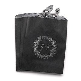 Wreath Frame - Black - Favor Bags