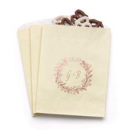 Wreath Frame - Ecru - Favor Bags