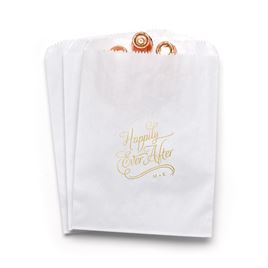 Happily Ever After - White - Favor Bags
