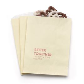 Better Together - Ecru - Favor Bags