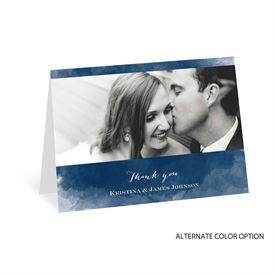 Elegant Thank You Cards: Watercolor Beginnings Thank You Card