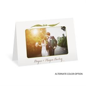 Cascading Leaves - Thank You Card