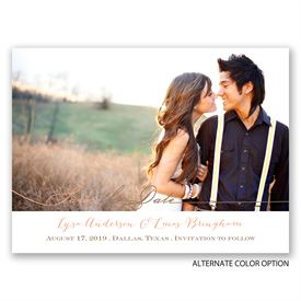 Save The Date Photo Cards: Simply Inviting Save the Date Card