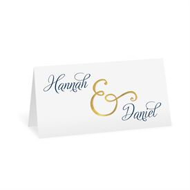 Perfect Pair - Gold Foil - Place Card
