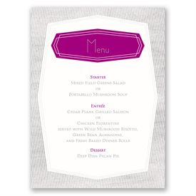 Banner Beauty - Menu Card
