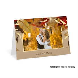 Autumn Maple - Thank You Card