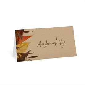 Autumn Maple - Place Card