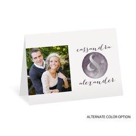 Modern Glow - Silver Foil - Thank You Card