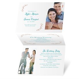Naturally Heartfelt - Rose Gold Foil - Program