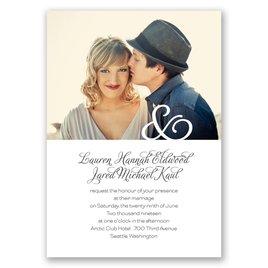 photo wedding invitations invitations by dawn