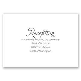 Photo Love - Reception Card