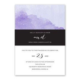 Love Embraced - Pastel Purple - Invitation