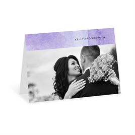 Love Embraced - Pastel Purple - Thank You Card