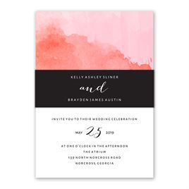 Love Embraced - Pastel Pink - Invitation