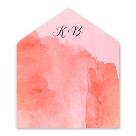 Love Embraced - Pastel Pink - Envelope Liner