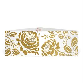 Vintage Flair - Gold - Foil Belly Band