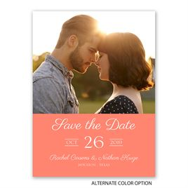 Vintage Flair - Save the Date Card
